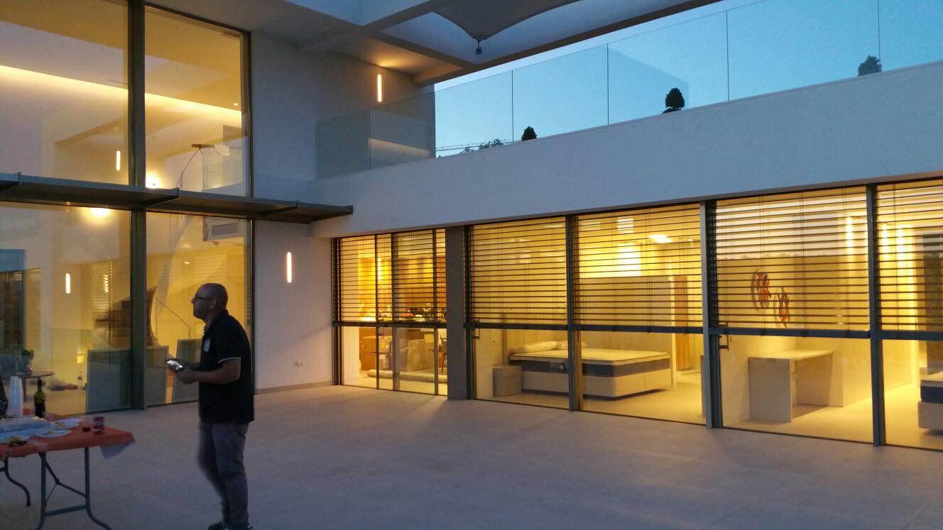 Villa en orihuela costa balsan aluminios - Cortinas pergola ...